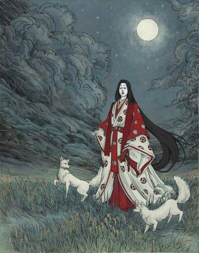 inari gods - هنر و تمدن شرق ( ژاپن )