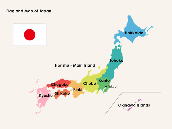 japan location - هنر و تمدن شرق ( ژاپن )