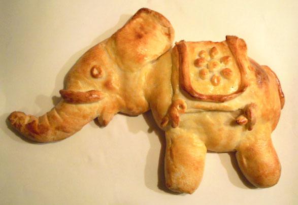 khamire nan 1 - مجسمه سازی با خمیر نان