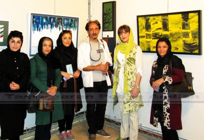 khatami pouya andish  22 705x485 - نمایشگاه نقاشیخط
