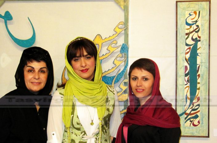 khatami pouya andish  6 705x464 - نمایشگاه نقاشیخط