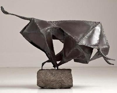 metal sculpture 2 - مجسمه سازی با فلز