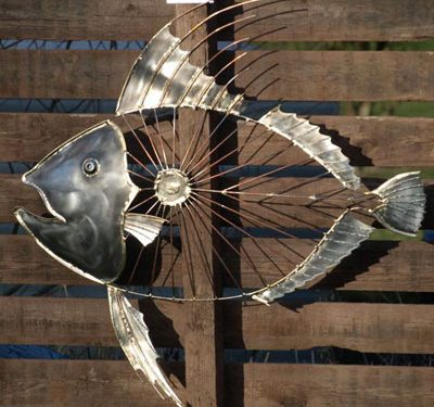 metal sculpture 3 400x375 - مجسمه سازی با فلز