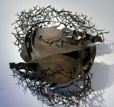 metal sculpture 4 400x375 - مجسمه سازی با فلز