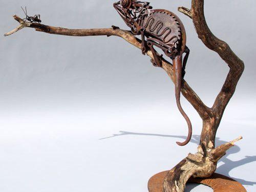 mojasamesazi ba zayeat 1 500x375 - مجسمه سازی با ضایعات