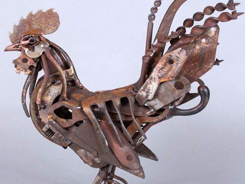 mojasamesazi ba zayeat 5 500x375 - مجسمه سازی با ضایعات
