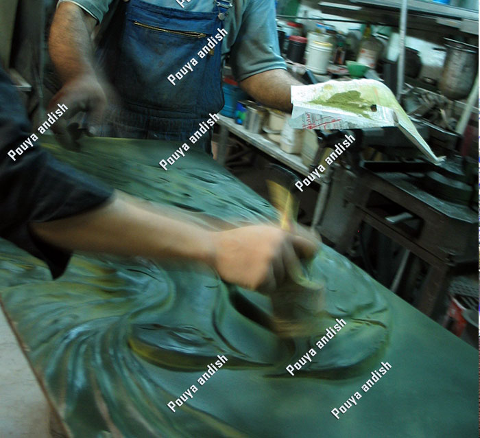 mojasamesazi felez 3 1 - مجسمه سازی با فلز