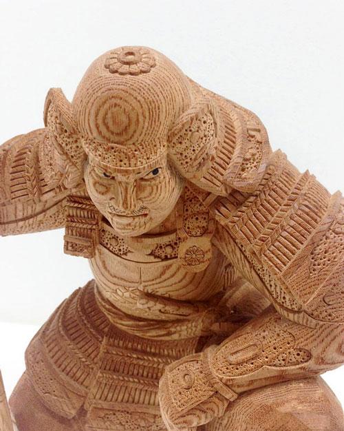 مجسمه سازی در ژاپن و مجسمه های چوبی