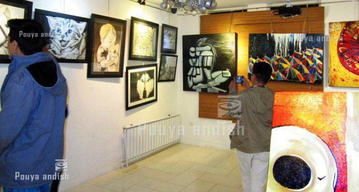 nagashi exhibition 17 1 705x377 - طراحی ، نقاشی