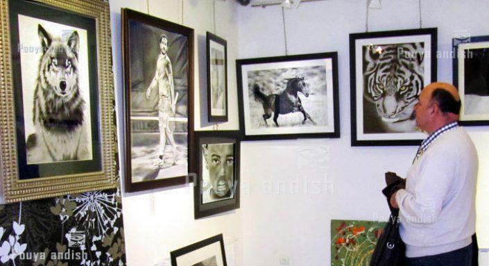nagashi exhibition 2 1 705x383 - طراحی ، نقاشی