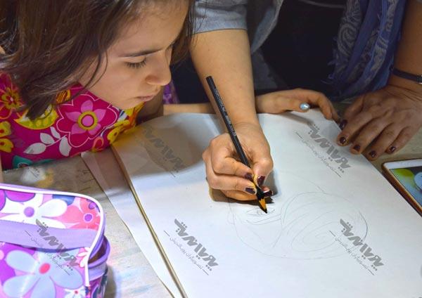 naghashi koodakan 4 - نقاشی کودکان