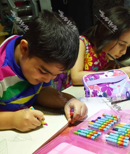 naghashi koodakan 5 - نقاشی کودکان