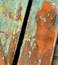 کاربرد پتینه روی چوب