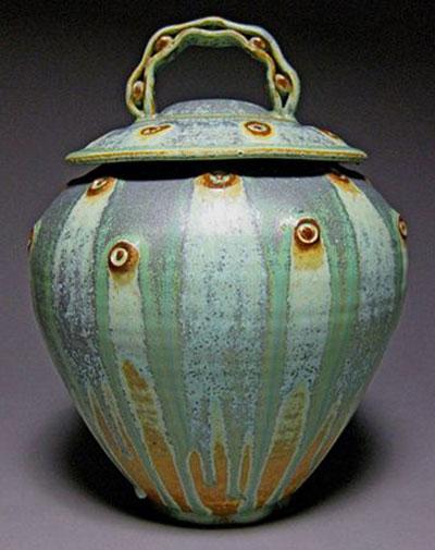 patina vase 1 - کاربرد پتینه روی سفال