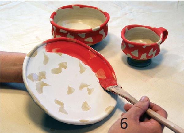 pottery glaze 2 - لعاب روی سفال چیست؟