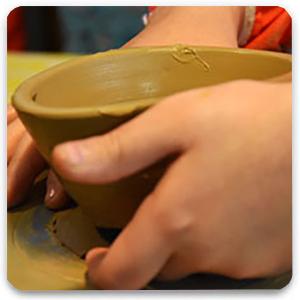 pottery kids 2 - مجسمه سازی برای کودکان
