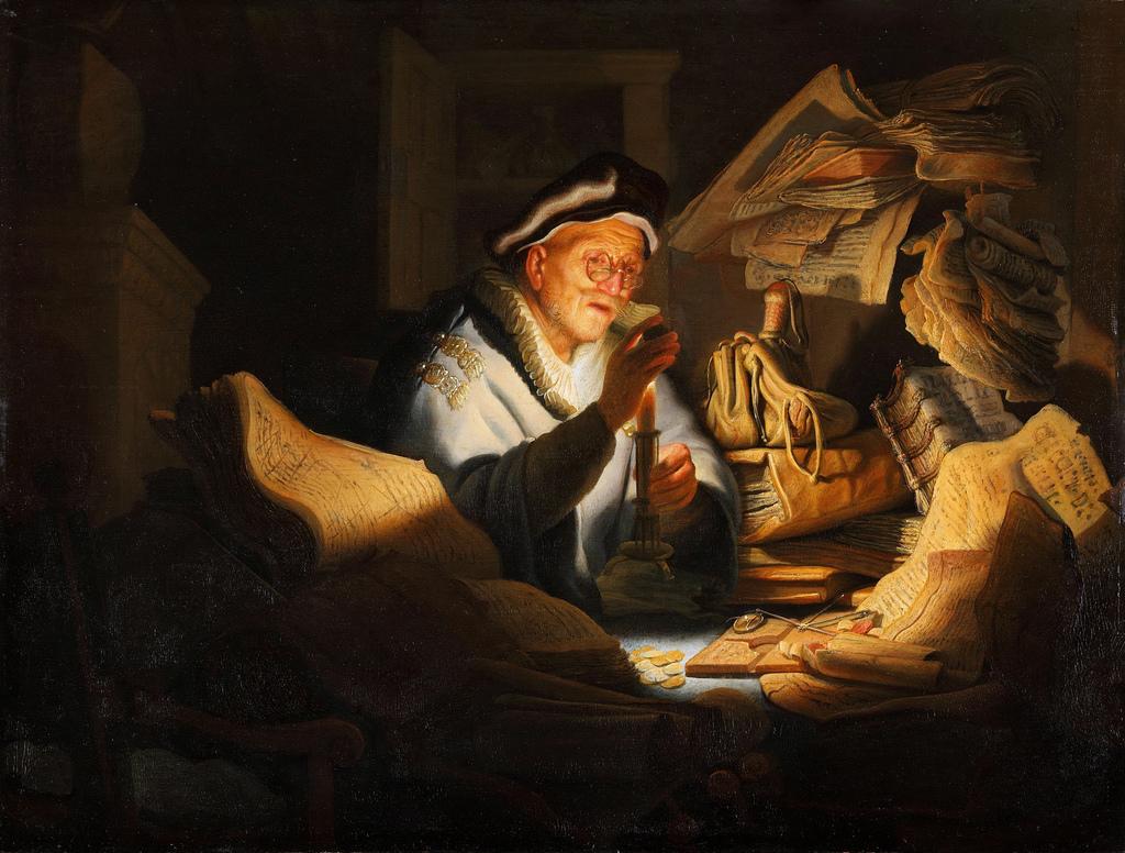 rambrand banker - رامبراند ، هنرمند نقاش
