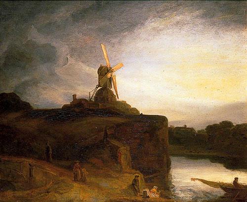 rambrandt the mill - رامبراند ، هنرمند نقاش