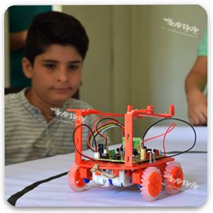 robotic 4 - مجسمه سازی برای کودکان