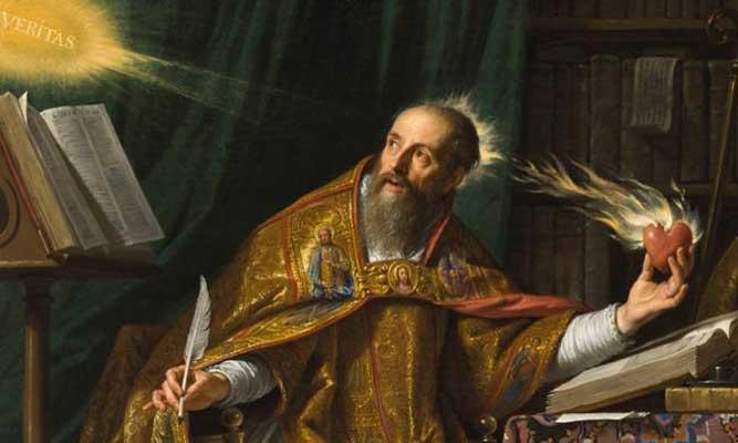 saint augustine - سیر تحول مفهوم  فلسفه ی زیبایی از یونان باستان تا عصر روشنگری
