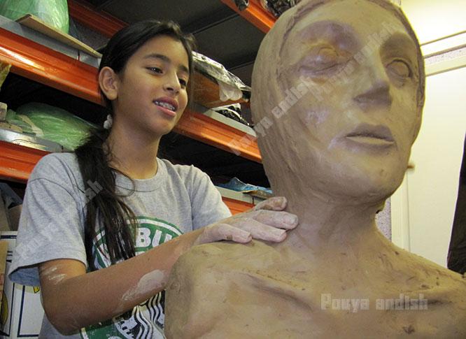 sofal koodakan 1 3 - مجسمه سازی ویژه نوجوانان