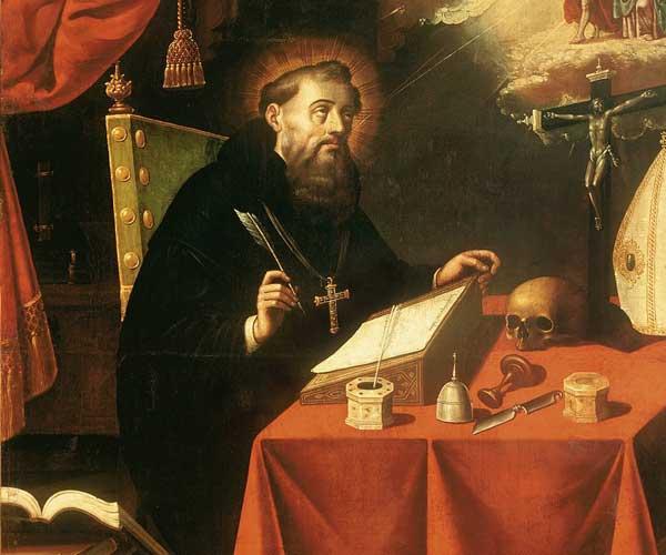 st augustine - سیر تحول مفهوم  فلسفه ی زیبایی از یونان باستان تا عصر روشنگری