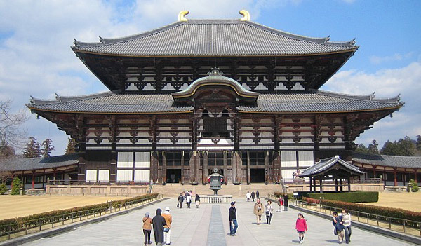 temple todaiji 1 - هنر و تمدن شرق ( ژاپن )