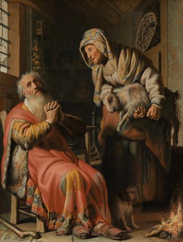tobit anna rambrant - رامبراند ، هنرمند نقاش