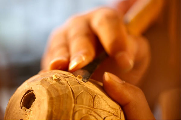 wood art 1 - مجسمه سازی با چوب
