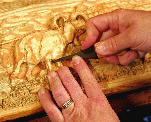 wood craft 1 - مجسمه سازی با چوب