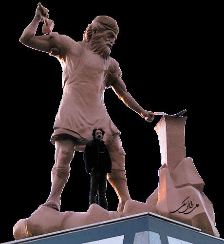 kave ahangar - مجسمه سازی ، آموزش مجسمه سازی ، آموزشگاه مجسمه سازی