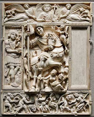 Byzantine sculpture - تاریخچه مجسمه سازی