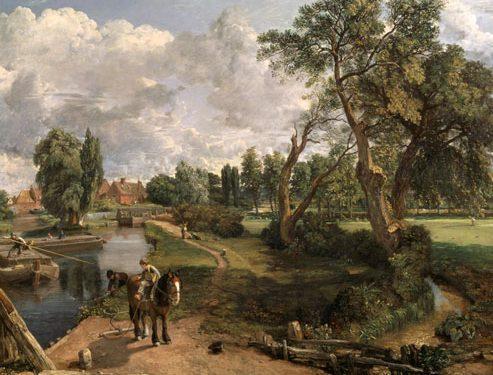 John Constable 493x375 - آموزش نقاشی سبک طبیعت گرایی