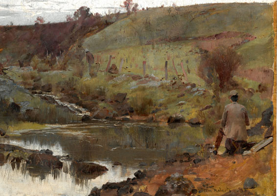 Tom Roberts - آموزش نقاشی سبک طبیعت گرایی
