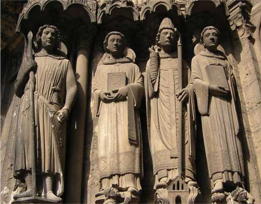 gothic sculpture - پیشینه مجسمه سازی
