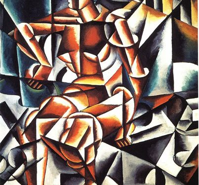 Constructivist art4 403x375 - آموزش نقاشی کانستراکتیویسم
