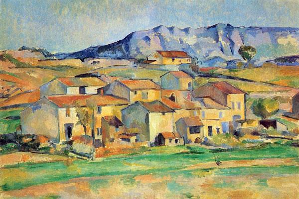 Paul Cézanne - نقاشی کوبیسم