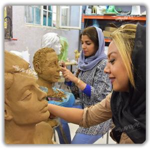 amoozesh mojasamesazi 1 - مجسمه سازی از دیروز تا امروز