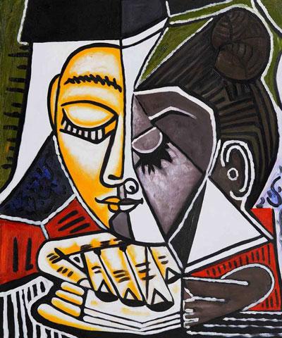 cubism arts - نقاشی کوبیسم