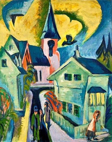 expressionism 2 1 - آموزش نقاشی اکسپرسیونیسم