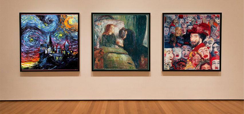 expressionism 2 - آموزش نقاشی اکسپرسیونیسم