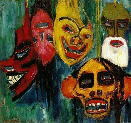 expressionism art 1 - آموزش نقاشی اکسپرسیونیسم