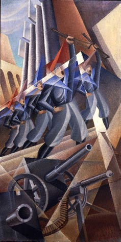 futurism 1 1 - آموزش نقاشی فوتوریسم