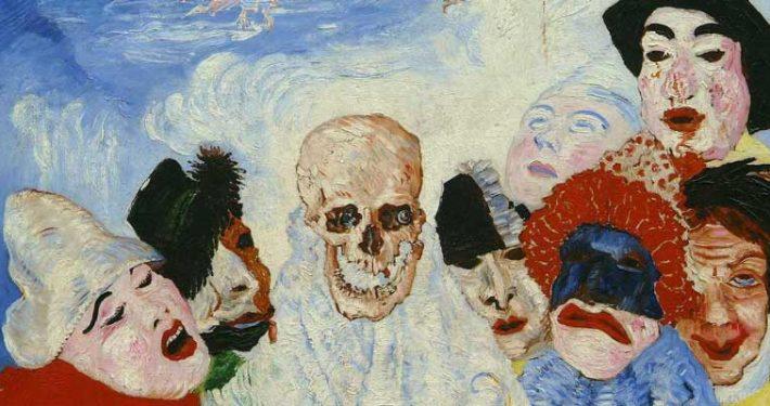 james ensor art 1 - آموزش نقاشی اکسپرسیونیسم