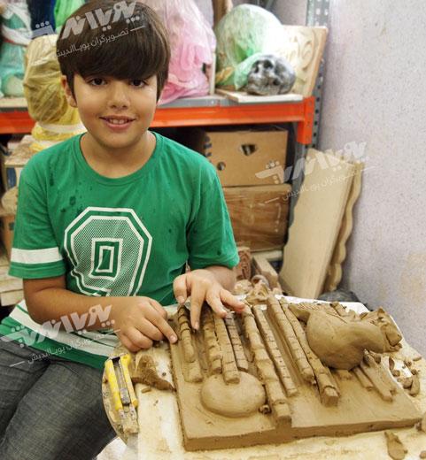 koodak sofalgari - فواید سفالگری برای کودکان