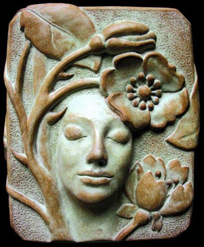 patina art - پتینه کاری روی مجسمه