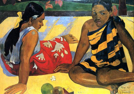 paul gauguin - نقاشی کوبیسم