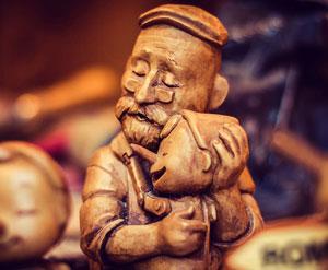 wood carving - مجسمه سازی از دیروز تا امروز