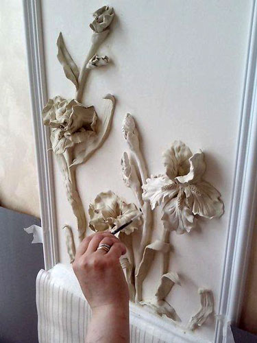 glue relief - تابلو نقش برجسته با چسب چوب