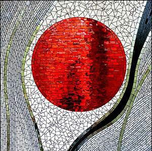 mosaic art edu3 - آموزش معرق کاشی